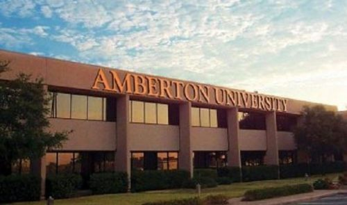 Amberton online international MBA programs